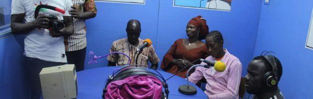 Théâtre radiophonique pour sensibiliser les populations à lutter contre le Noma et les autres pathologies et malformations faciales.