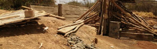 Village de Koumna dans la commune de Ouindigui, province du Lorum : Les populations prennent l'initiative communautaire de construire un pont sur le fleuve Nakambé